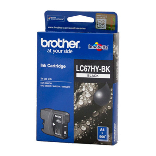 Brother LC67 Black HY Ink Cart
