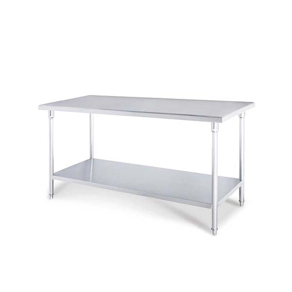 Soga 100X70X85Cm Commercial Catering Stainless Steel Prep Bench