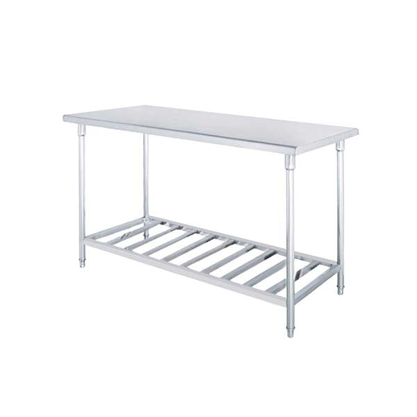Soga 100X70X85Cm Commercial Kitchen Stainless Steel Prep Work Bench