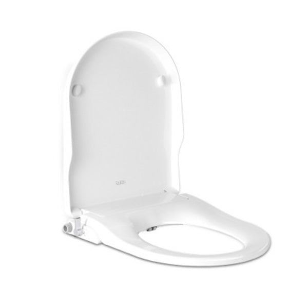 Non Electric Bidet Toilet Seat White Bathroom