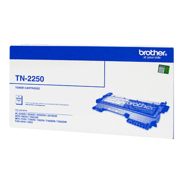 Brother TN2250 Toner Cartridge - Black