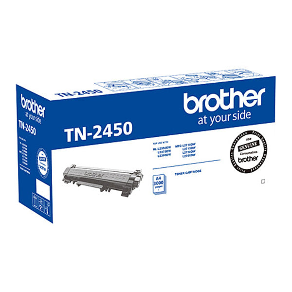 Brother TN2450 Toner Cartridge 3,000 Pages