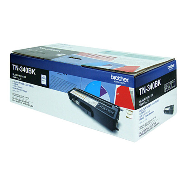 Brother TN340 Black Toner Cart
