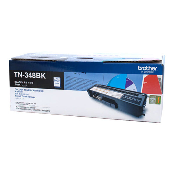 Brother TN348 Black 6,000 Pages Toner Cart