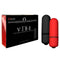 Bedroom Products Vibe - Black & Red Bullets - 2 Pack