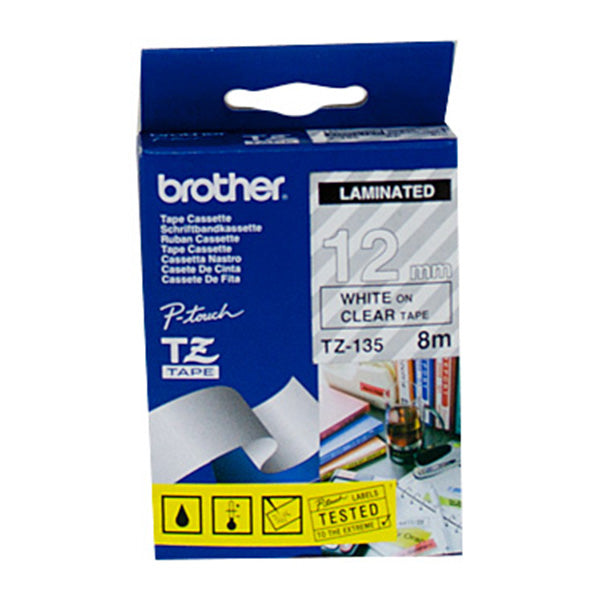 Brother TZe135 Labeling Tape 8 Meters