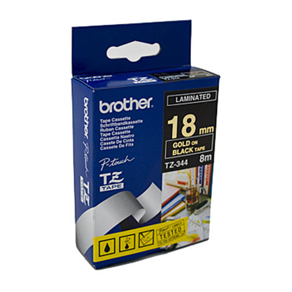 Brother TZe344 Labeling Tape 18 Mm