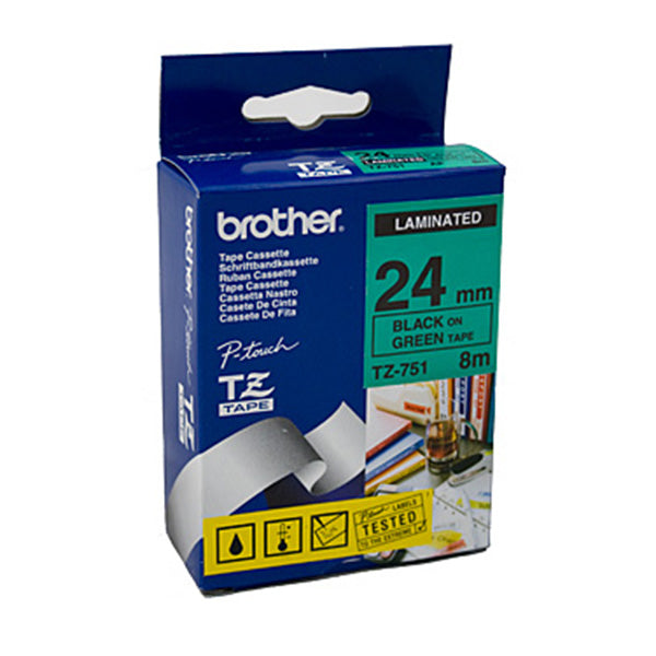 Brother TZe751 Labeling Tape Laminated 24 Mm