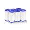 Set Of 6 Bestway Pool Filter Cartridge Replacement Cartridge For 1249L