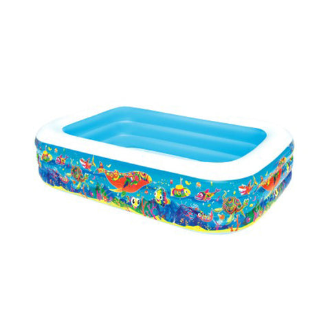 Bestway Inflatable Kids Above Ground Swimming Pool 54120