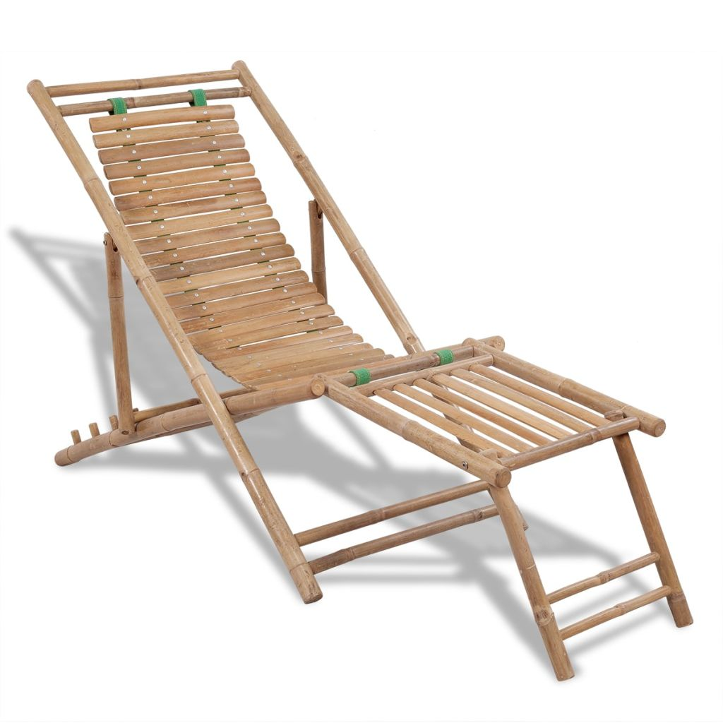sc 1 st  Simply Wholesale & Bamboo Deck Chair with Footrest u2013 Simply Wholesale