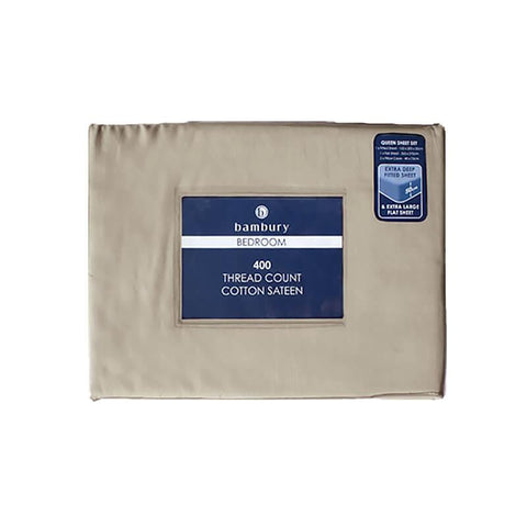Bambury 400 Thread Count Sheet Set - Fawn