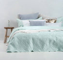 Bambury Botanica Embossed Coverlet Set