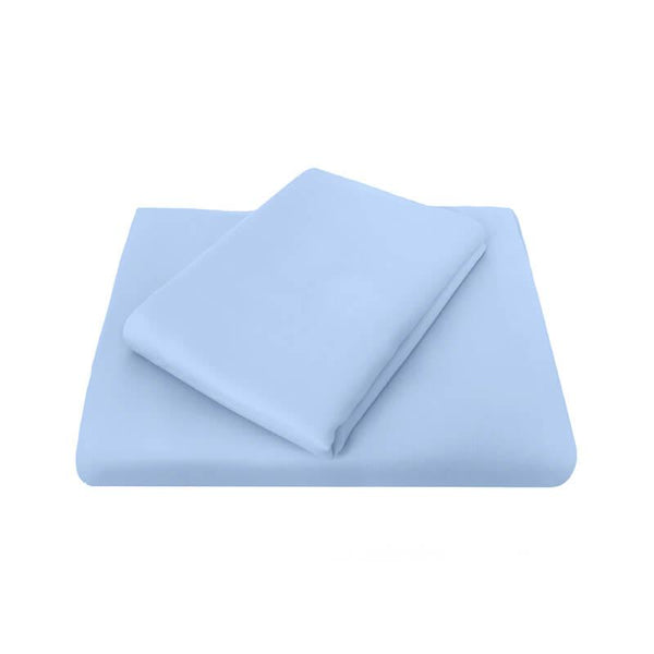 Bambury Chateau Flat Sheet - Blue