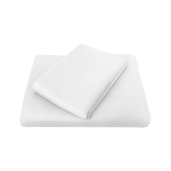 Bambury Chateau Flat Sheet - White