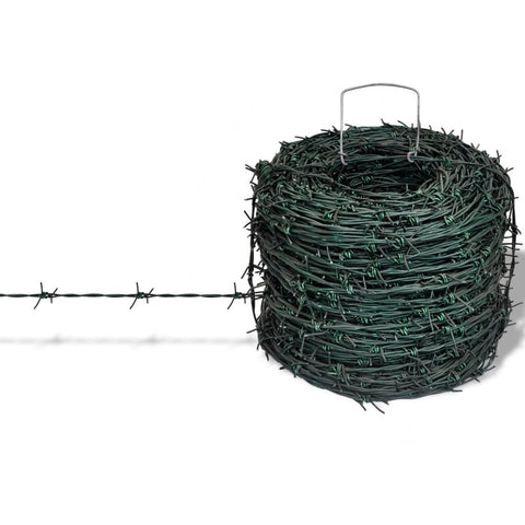 Barbed Wire Entanglement Roll 100m