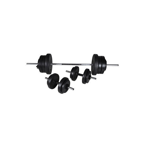 Barbell And 2 Dumbbell Set