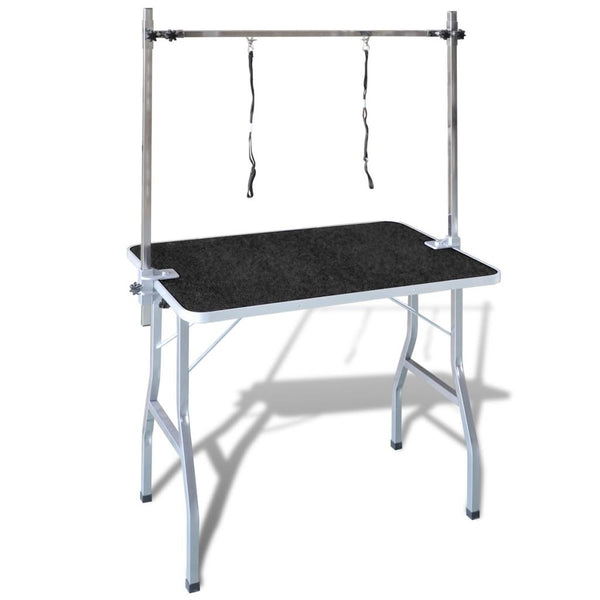 Bath-Grooming Table for Cats & Dogs with 2 Adjustable Loops