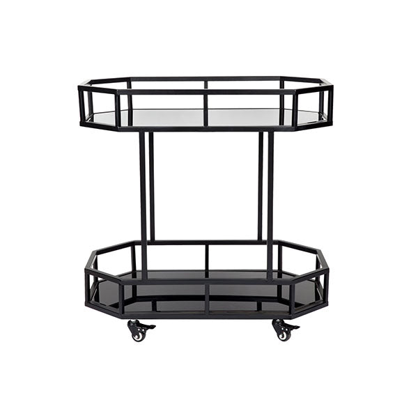 Brooklyn Drinks Trolley Black