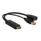 8Ware HDMI To Display Port DP Male To Female With USB Adapter Cable