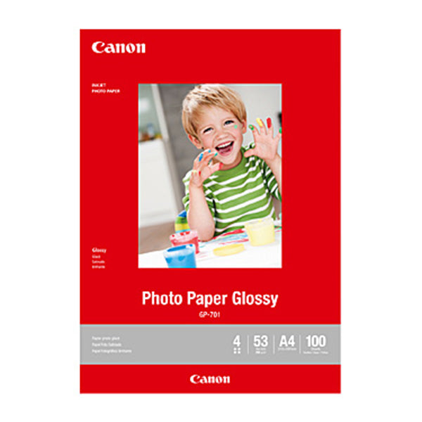 Canon A4 Glossy Photo Paper
