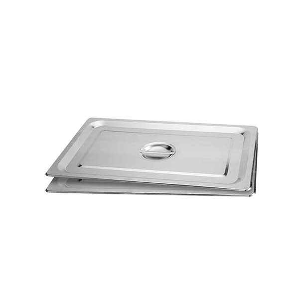 Soga 2X Gastronorm Gn Pan Lid Full Size Stainless Steel Tray Top Cover
