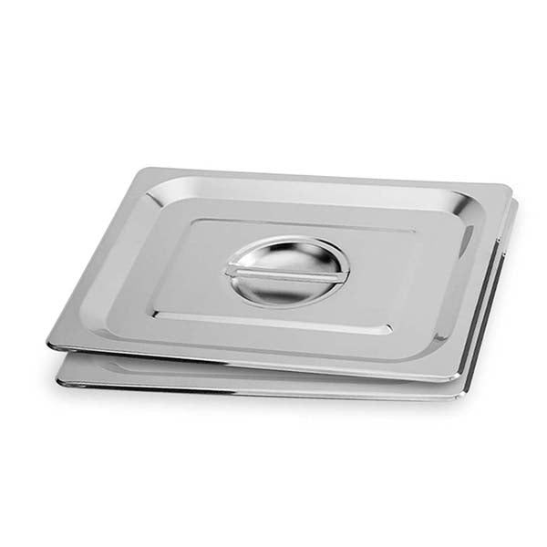 Soga 2X Gastronorm Gn Pan Lid Full Size Stainlessteel Tray Top Cover