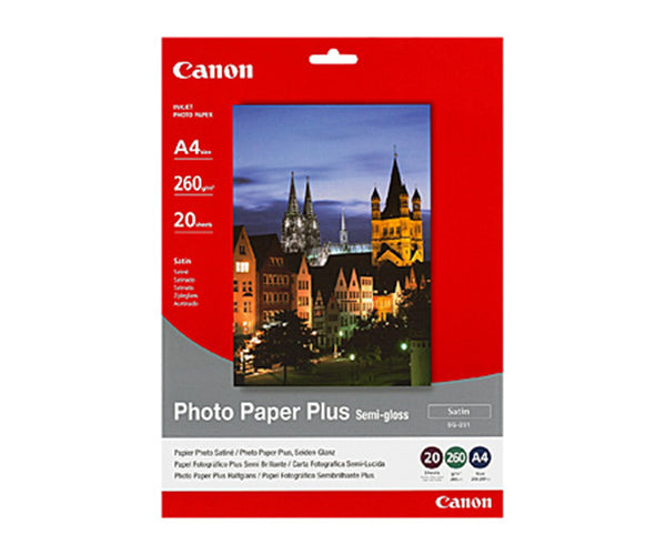 Canon A4 Semi Gloss Photopaper