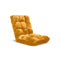 Soga Floor Recliner Folding Sofa Futon Couch Chair Cushion Apricot