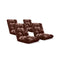 Soga Floor Recliner Folding Sofa Futon Couch Chair Cushion Coffee X4