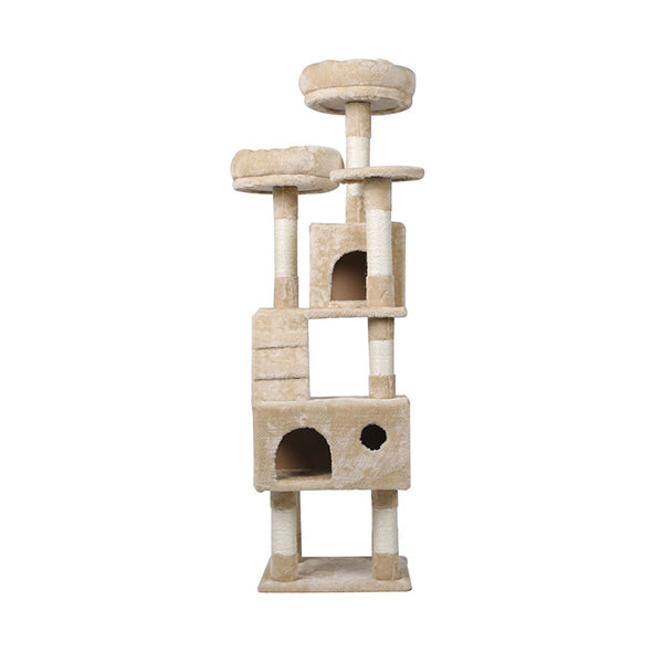 Cat Tree Tower Condo Play Pet Activity Kitty Bed