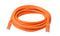 Cat 6a UTP Ethernet Cable, Snagless  - 5m Orange