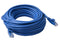 Cat 6a UTP Ethernet Cable, Snagless - Blue 20M