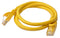 Cat 6a UTP Ethernet Cable, Snagless - Yellow