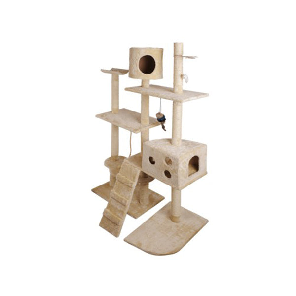 Cat Tree 170Cm Scratching Post Tower Condo House Furniture Wood