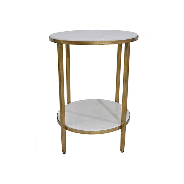 Chloe Side Table Gold