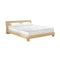 Cool Gel Memory Foam Mattress Topper Bamboo Cover 5Cm