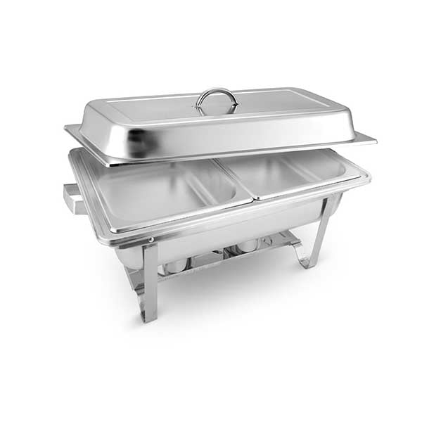Soga 2X Stainless Steel Chafing Food Warmer Dish Catering Dual Trays