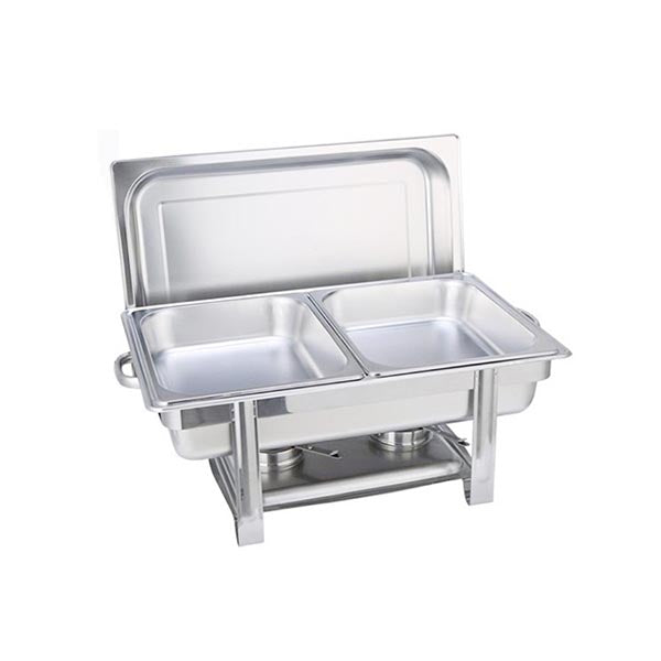 Soga Double Tray Stainless Steel Chafing Catering Dish Food Warmer