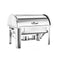 Soga 9L Stainless Steel Full Size Roll Top Chafing Dish Food Warmer