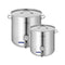 Soga Stainless Steel Brewery Pot 50L 98L With Beer Valve 40Cm 50Cm