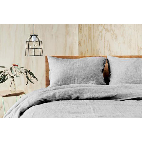 DOUX PURE LINEN Quilt Cover Set - King