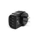 Genuine Mozbit 4 Ports USB AC Wall Charger 3.4Amp for iPhone Galaxy
