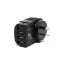 4 Port USB Wall Charger Adapter for iPhone 6S 7 Plus iPad Air Samsung