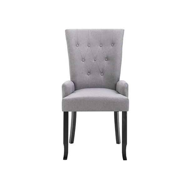 Dining Chair With Armrests Fabric