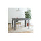 Dining Table High Gloss Grey Chipboard