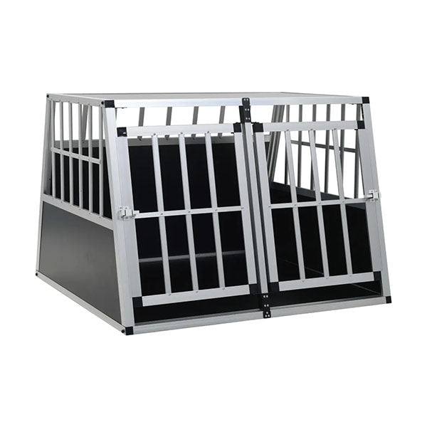 Dog Cage With Double Door 94 X 88 X 69 Cm