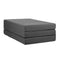 Double Size Folding Portable Mattress Dark Grey
