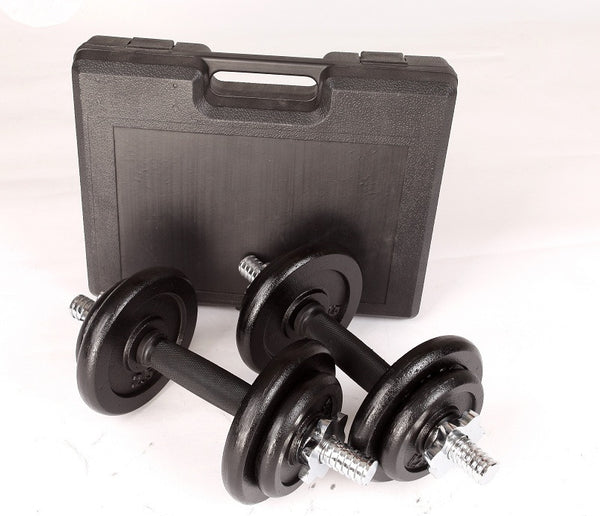 Dumbbell Set with Carrying Case - 20KGS