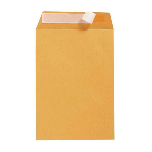 500X Gold Dlx Envelope Strip Seal 85Gsm Plain Face Office Supplies